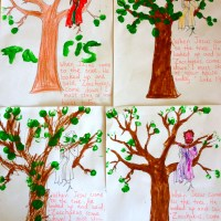 Zaccheus tree craft for kids!