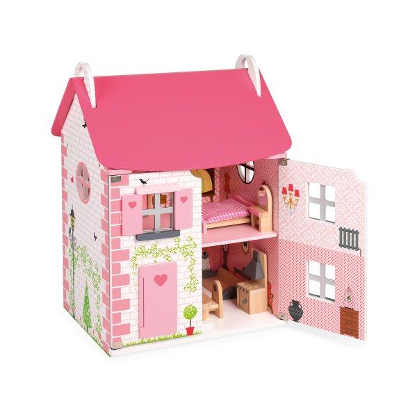 JANOD - Maison de poupées meublée 1