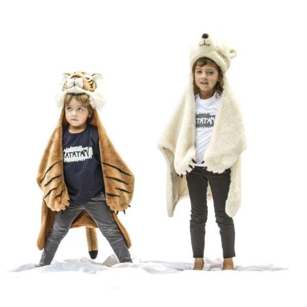 Wild & Soft - Déguisement peau de bêtes Ours polaire 1