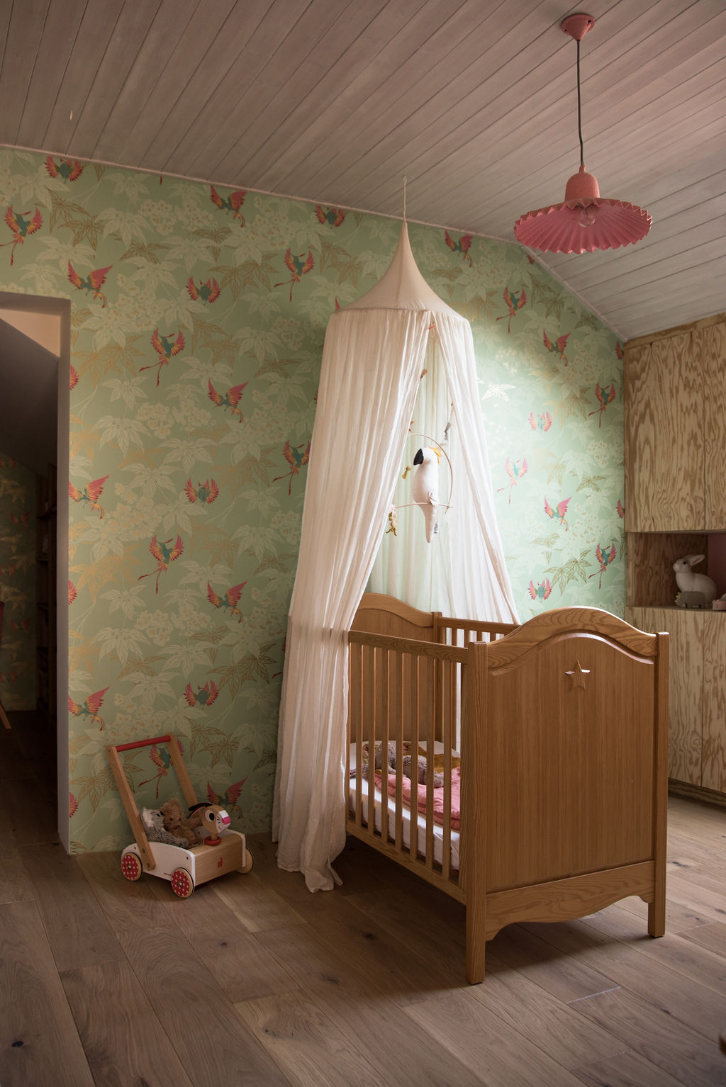 La chambre de Ninon, 24 mois - Blog famille Sunday Grenadine