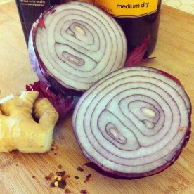 Red Onion Marmalade Ingredients