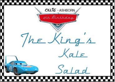 The Kings Kale Salad