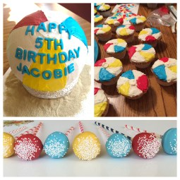 Beach Ball Birthday Party