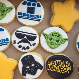 Star Wars sugar cookies