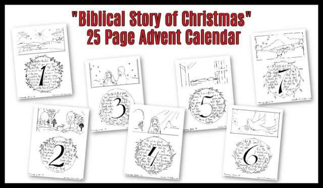 Advent Coloring Pages & Activities for Kids - Sunday School Works