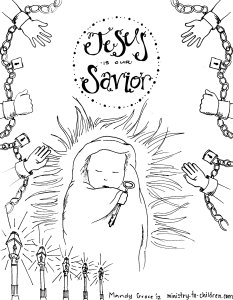 Share the Bible Story of Jesus Birth for Kids this Christmas