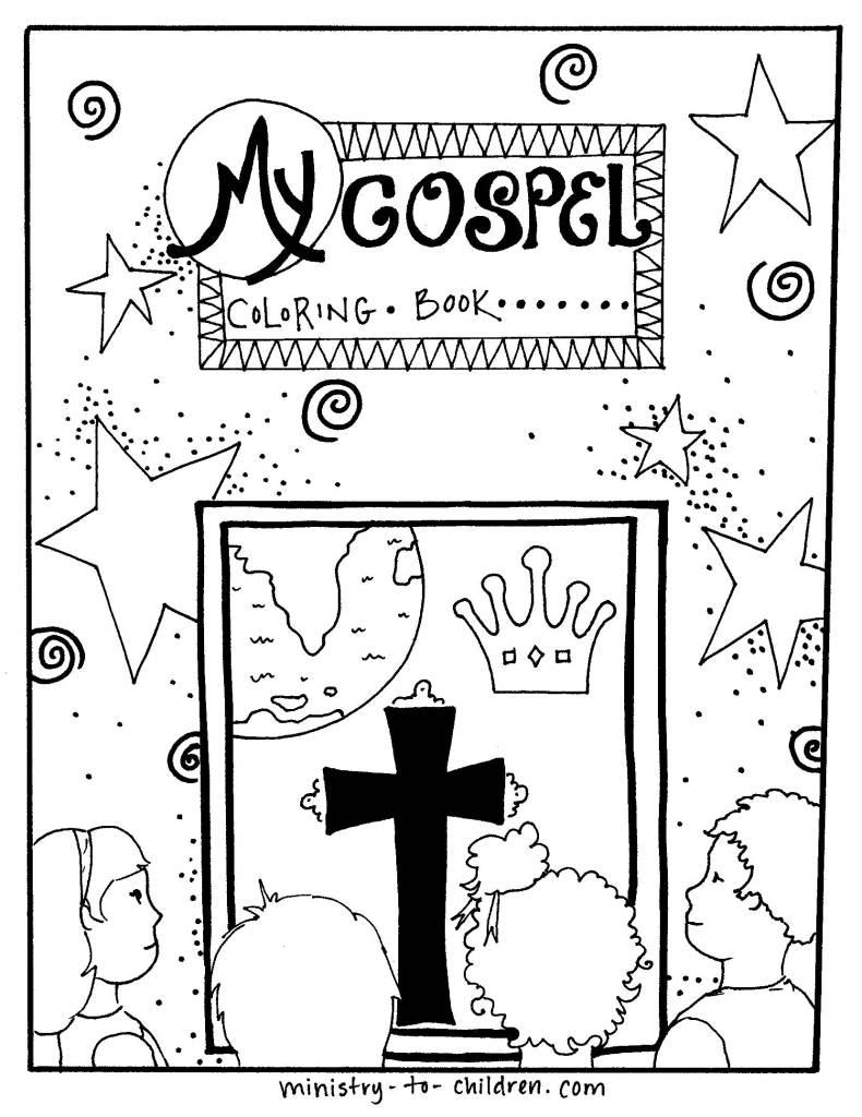 Gospel Coloring Book for Kids