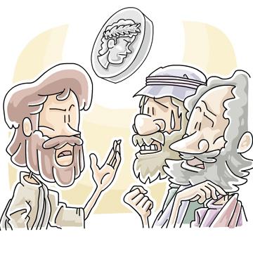 Render Unto Caesar (Matthew 22:15-22) Sunday School Lessons and Activities  for Kids - Sunday School Works