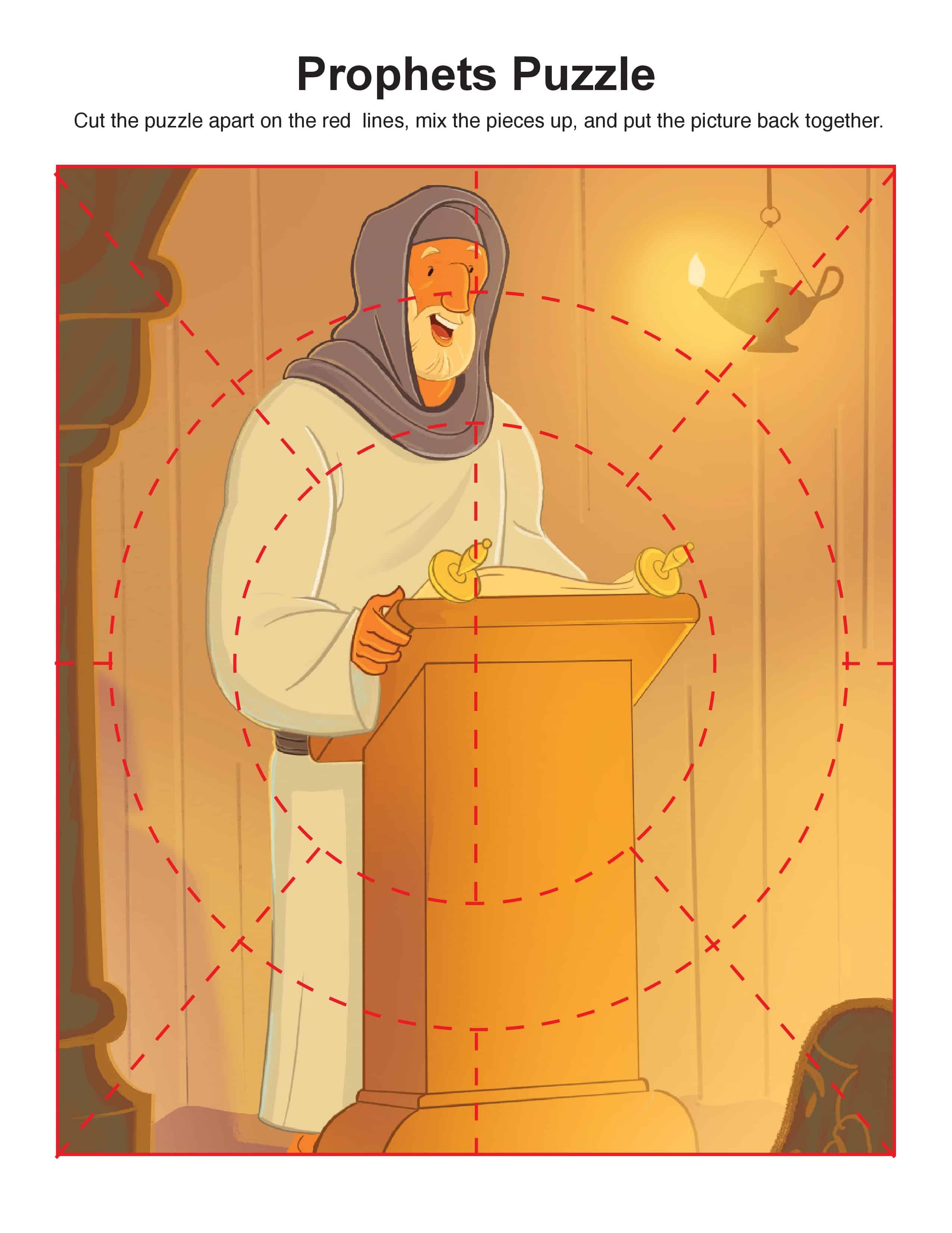 Prophets Told About God S Son Puzzle