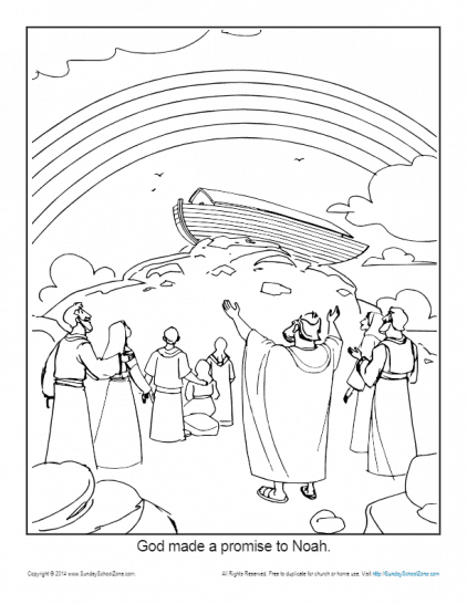 noah and the ark coloring pages # 62