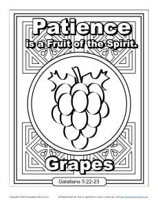 Grapescoloringpagejpg