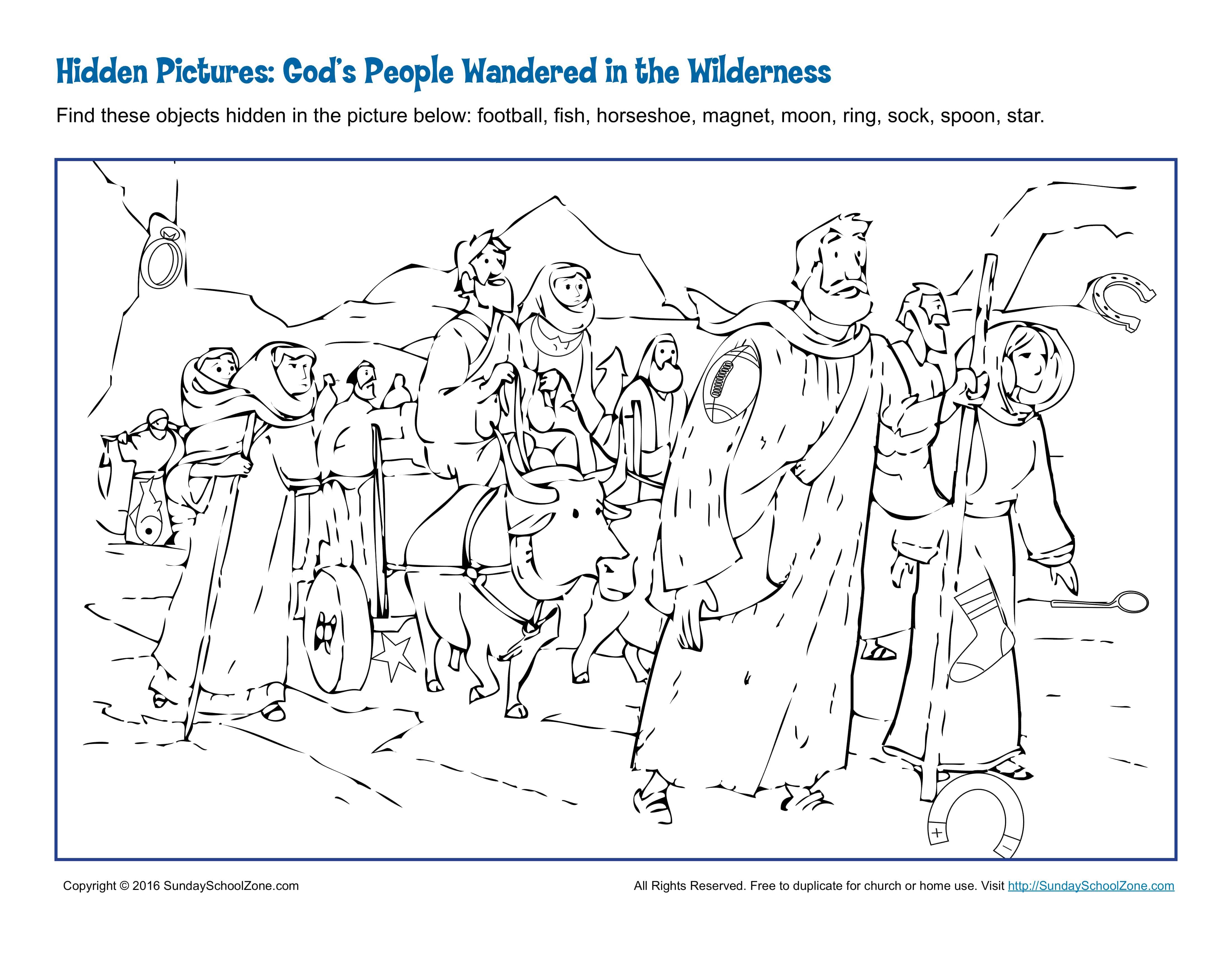 Printable Moses Worksheet