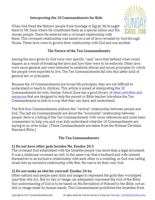 10 commandments of god # 54