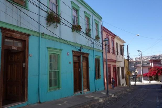 Une rue du Cerro Alegre - Valparaiso