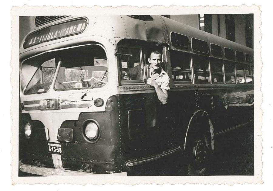 Joseph le mécanicien automobile. Viaçâo Carioca - 1951