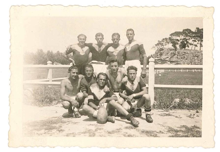L'équipe Junior Rugby de Salon de Provence - 28 mai 1944
