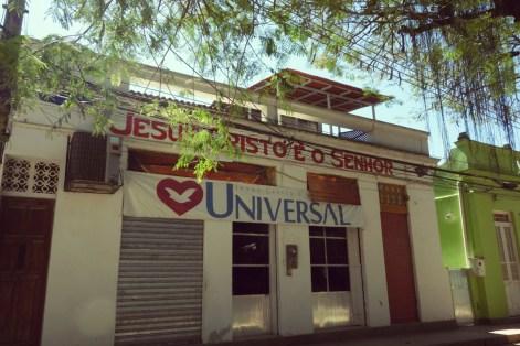 L'église évangéliste de Paqueta