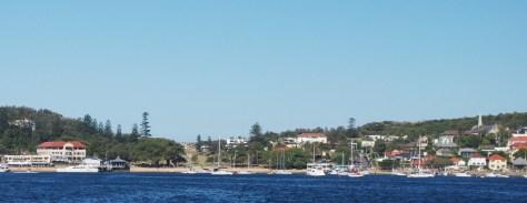 Watson's Bay still kind of looks like a fishing village.