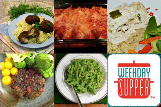 Weekday Supper 11.18 - 11.22