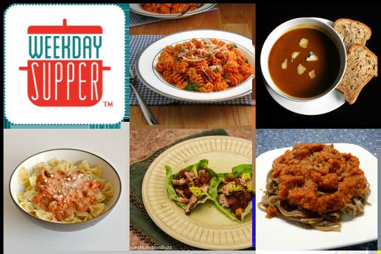 Weekday Supper Menu 12.23-12.27