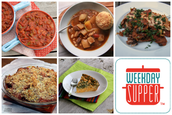 weekday supper 10.21-10.25