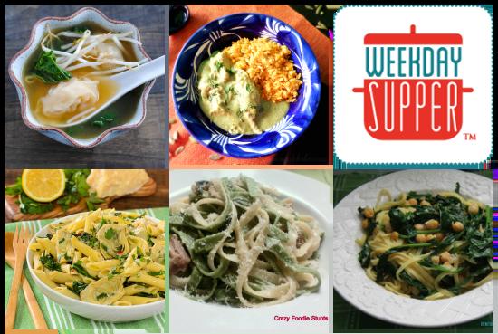 Weekday Supper Menu 3.3-3.7