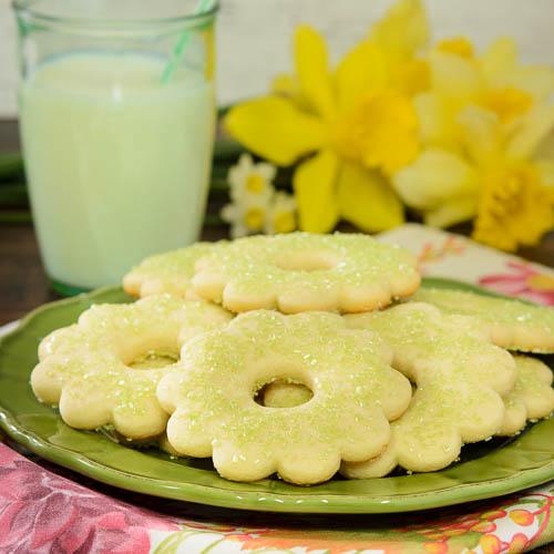 Lime Sugar Cookies by Renee Dobbs of Magnolia Days