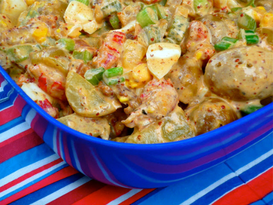 Texas-Creole Crawfish Potato Salad from The Weekend Gourmet