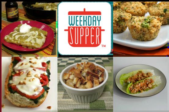 Weekday Supper 3.24-3.28