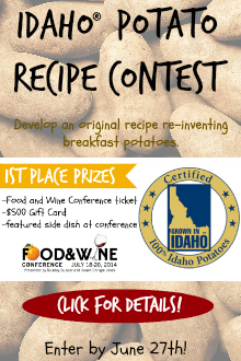 Idaho® Potato Recipe Contest