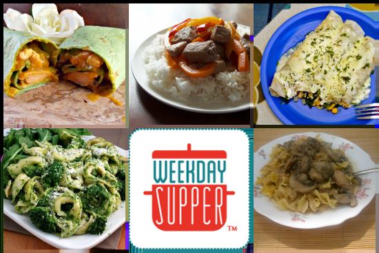 Weekday Supper 5.5-5.9