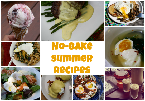 No Bake Summer Recipes featuring Safest Choice eggs
