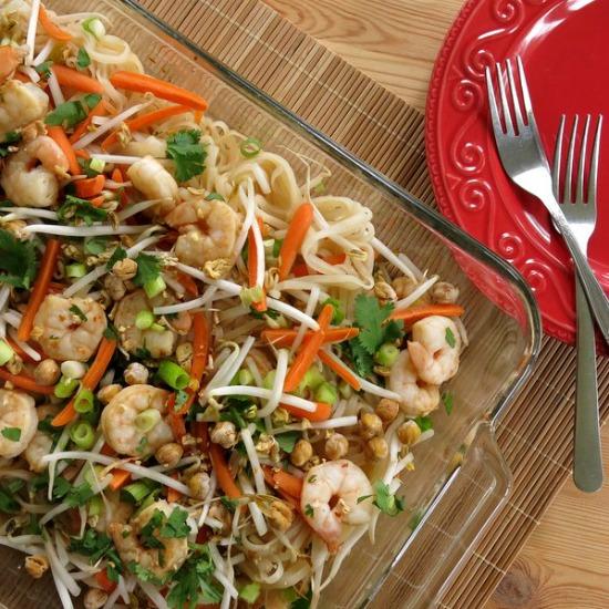 Easy Shrimp Pad Thaio