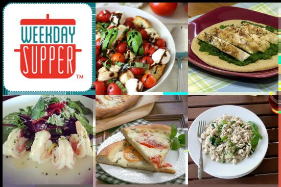 Weekday Supper Menu 7.28 - 8.1