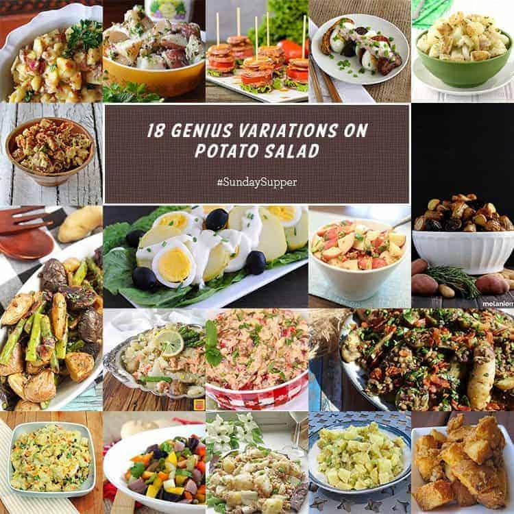 18 Genius Variations on Potato Salad #SundaySupper
