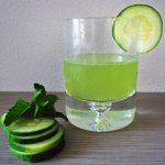 Summer Refreshment: Mint Cucumber White Wine Fizz