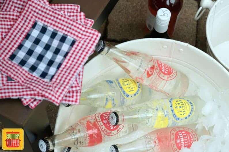 Beverage Station #SundaySupper