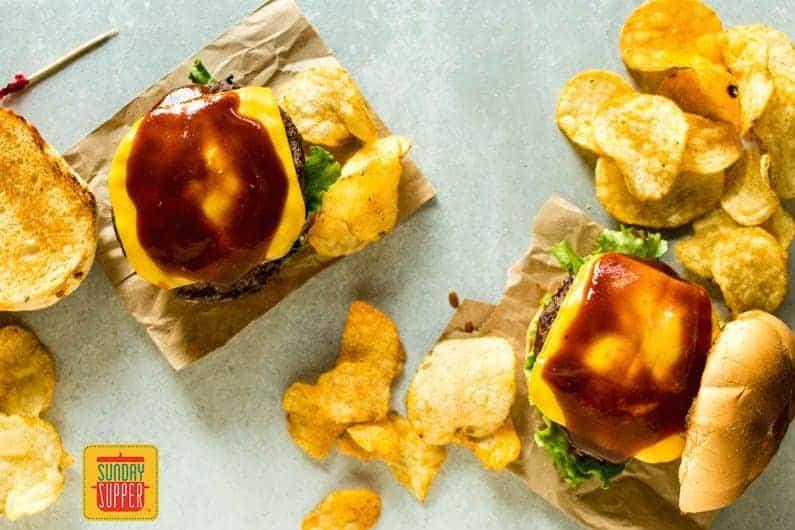 BBQ Burgers Photo Styling Tips #SundaySupper