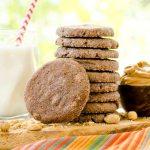 Mexican Chocolate Peanut Butter Cookies #WeekdaySupper #CookieJar