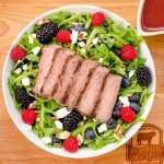 Summer Berry Steak Salad