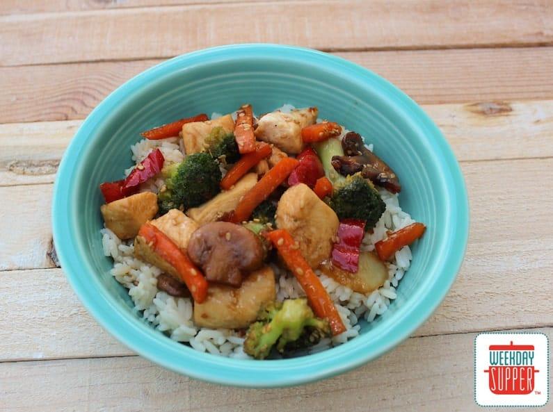 Easy Chicken Stir-Fry #WeekdaySupper #Giveaway