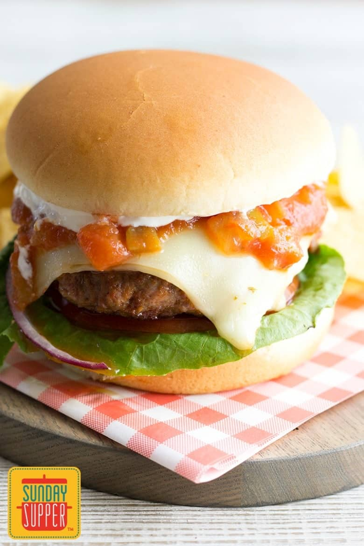 Taco Burgers #SundaySupper