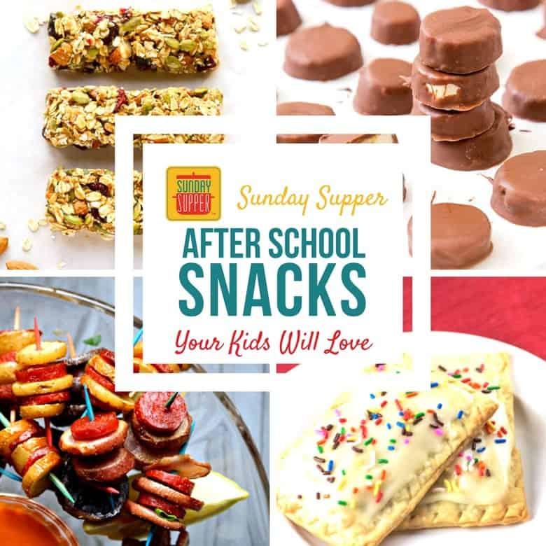 Best After School Snacks