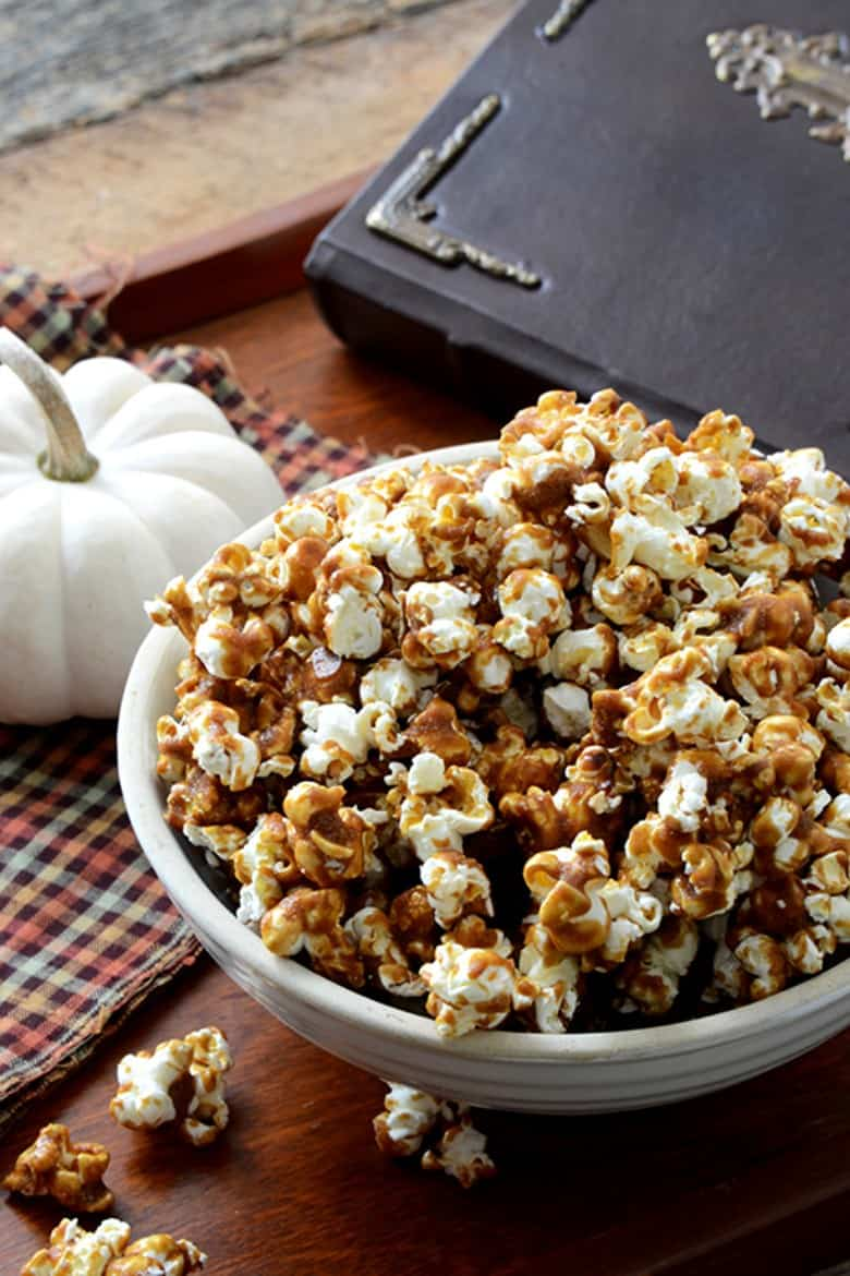 Butterbeer popcorn from An Edible Mosaic