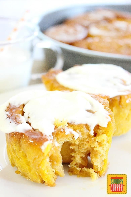 Best Gluten Free Cinnamon Rolls #SundaySupper