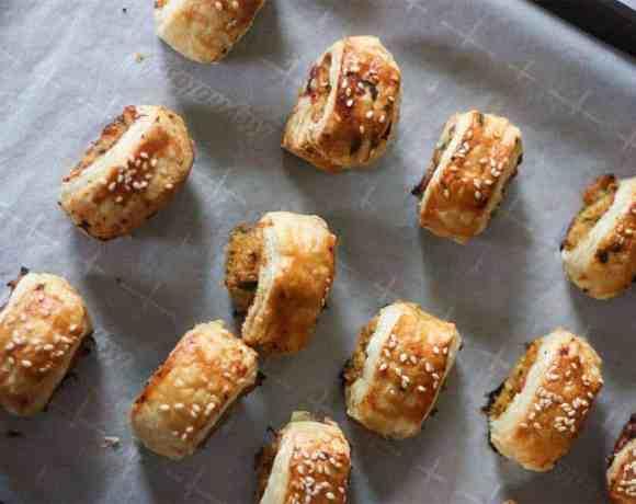 thai chicken sausage rolls #sundaysuppers