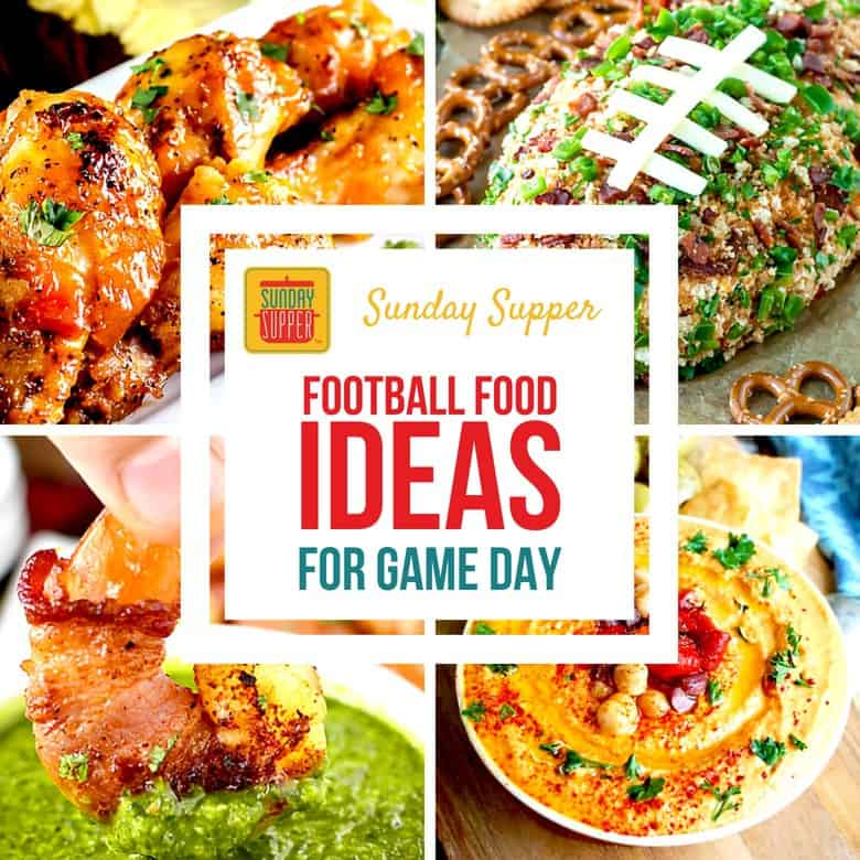 Easy Football Food Ideas for Game Day