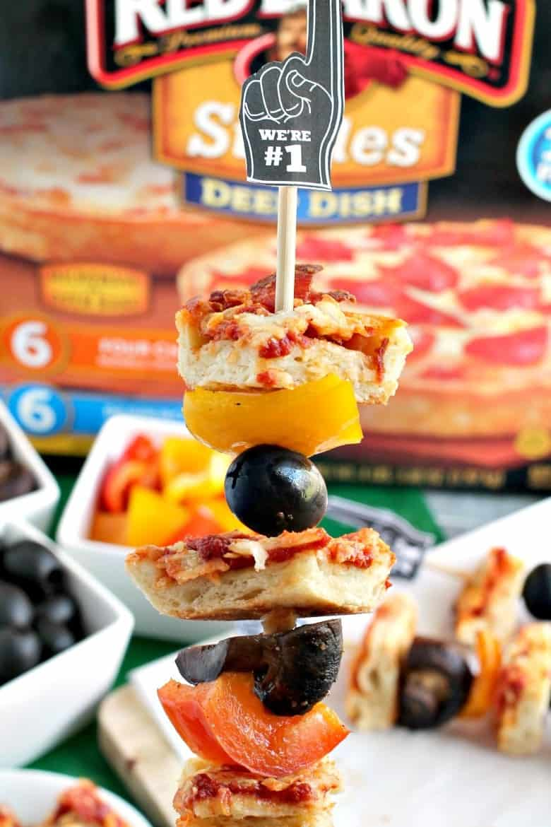 Easy Pizza Kabobs