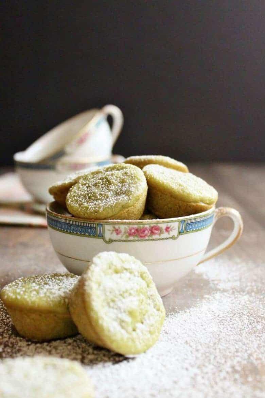 Matcha Green Tea Coconut Mochi