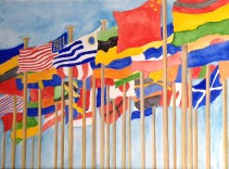 Bill Aldridge, Flags